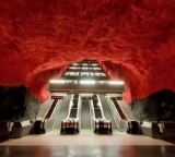 Artistic Subway System in Stockholm