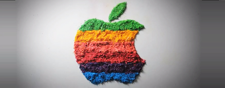 Colorful Stop-Motion Video Pays Tribute to Apple